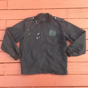 Stall & Dean Black Full Zip Jacket 2XL